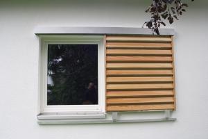 Schiebeläden Holz - Modell Novo S
