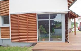 Schiebeläden Holz - Modell Standard