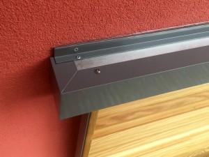 Fensterläden Holz Teilverdeck