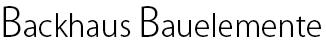 Backhaus Bauelemente Logo